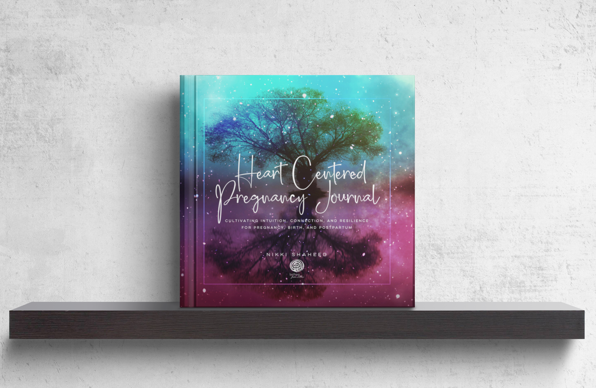 heart centered pregnancy journal